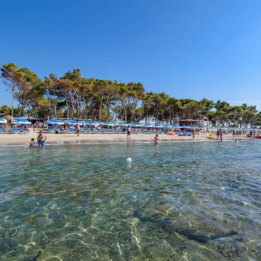 Spiaggia Privata Villaggio Orizzonte