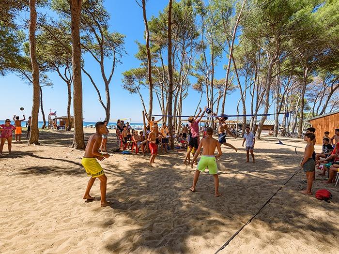 Beach volley villaggio Toscana