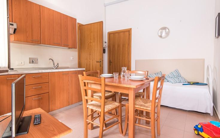 Cucina degli appartamenti comfort