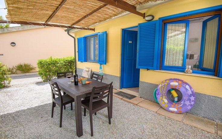 Veranda appartamento blue