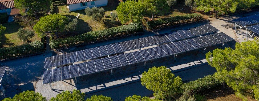 Pannelli Solari al Villaggio Orizzonte